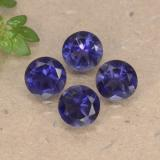 thumb image of 1.2ct Round Facet Violet Blue Iolite (ID: 468696)