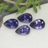 thumb image of 1.4ct Pear Facet Violet Blue Iolite (ID: 468712)