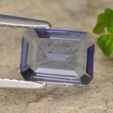 thumb image of 1ct Octagon Step Cut Violet Blue Iolite (ID: 474756)