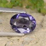 thumb image of 0.7ct Oval Facet Violet Iolite (ID: 475757)
