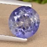 thumb image of 1ct Round Facet Violet Blue Iolite (ID: 476145)