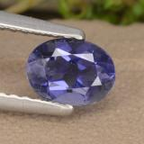 thumb image of 0.5ct Oval Facet Violet Blue Iolite (ID: 476153)