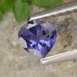 thumb image of 0.3ct Pear Facet Violet Blue Iolite (ID: 476416)