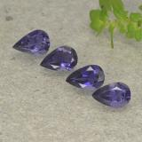 thumb image of 0.3ct Pear Facet Violet Blue Iolite (ID: 498033)