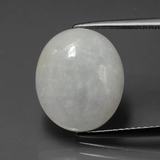 thumb image of 6.8ct Oval Cabochon Light Green Jadeite (ID: 387144)