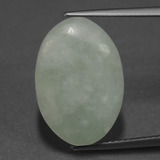 thumb image of 9.9ct Oval Cabochon Green Jadeite (ID: 422617)