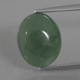 thumb image of 4.5ct Oval Cabochon Green Jadeite (ID: 434291)