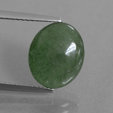 thumb image of 4.6ct Oval Cabochon Green Jadeite (ID: 434324)