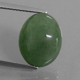 thumb image of 7.4ct Oval Cabochon Green Jadeite (ID: 434325)