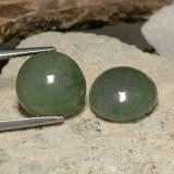 thumb image of 12.4ct Round Cabochon Green Jadeite (ID: 470587)
