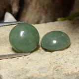 thumb image of 13.7ct Round Cabochon Green Jadeite (ID: 470604)