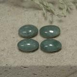 thumb image of 2ct Oval Cabochon Green Jadeite (ID: 496134)