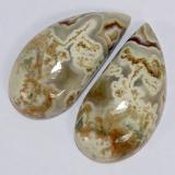 thumb image of 21.1ct Fancy Cabochon Multicolor Jasper (ID: 391156)