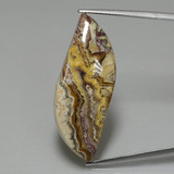 thumb image of 22.8ct Fancy Cabochon Multicolor Jasper (ID: 396540)