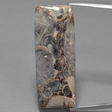 thumb image of 16.9ct Baguette Cabochon Multicolor Jasper (ID: 399469)