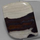 thumb image of 45.1ct Fancy Cabochon Multicolor Jasper (ID: 433345)