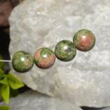 thumb image of 32.9ct Drilled Sphere Multicolor Jasper (ID: 469885)