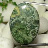 thumb image of 30.4ct Oval Cabochon Mehrfarbig Jaspis (ID: 471307)