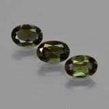 thumb image of 1.5ct Oval Facet Brownish Green Kornerupine (ID: 421922)