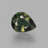 thumb image of 1.7ct Pear Facet Brownish Green Kornerupine (ID: 453162)