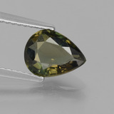 thumb image of 1.4ct Pear Facet Brownish Green Kornerupine (ID: 453163)