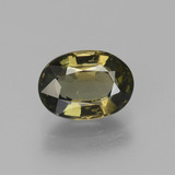 thumb image of 1.9ct Oval Facet Brownish Green Kornerupine (ID: 453164)