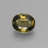 thumb image of 1.4ct Oval Facet Brownish Green Kornerupine (ID: 453169)