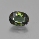 thumb image of 2.2ct Oval Facet Brownish Green Kornerupine (ID: 454572)