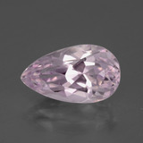 thumb image of 5.8ct Pear Facet Light Pink Kunzite (ID: 286242)