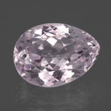thumb image of 7.6ct Pear Facet Pink Kunzite (ID: 405843)