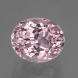 thumb image of 10.3ct Oval Facet Pink Kunzite (ID: 405971)