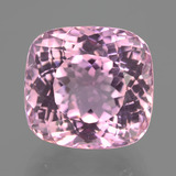 thumb image of 16.7ct Cushion-Cut Pink Kunzite (ID: 406505)