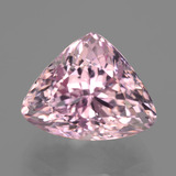 thumb image of 16.1ct Trillion Facet Pink Kunzite (ID: 406506)