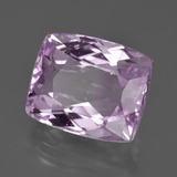 11.27 ct Cushion-Cut Pink Kunzite Gem 14.16 mm x 11.7 mm (Photo B)