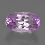 thumb image of 9.3ct Oval Facet Pink Kunzite (ID: 409935)