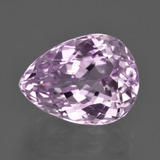 thumb image of 11.1ct Pear Facet Pink Kunzite (ID: 409937)