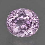 thumb image of 8.2ct Oval Facet Pink Kunzite (ID: 410589)