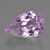 thumb image of 11ct Pear Facet Pink Kunzite (ID: 410917)