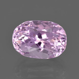 thumb image of 5.8ct Oval Facet Pink Kunzite (ID: 413772)