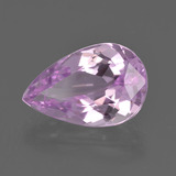 5.64 ct Pear Facet Pink Kunzite Gem 14.53 mm x 9.5 mm (Photo B)