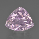 thumb image of 9.3ct Trillion Facet Pink Kunzite (ID: 427045)