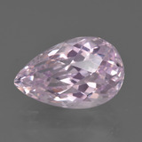 thumb image of 8.7ct Pear Checkerboard Pink Kunzite (ID: 427047)