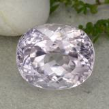 thumb image of 24.9ct Oval Facet Pink Kunzite (ID: 427635)