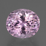 thumb image of 9.7ct Oval Facet Cherry Pink Tone Kunzite (ID: 434175)