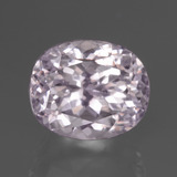 thumb image of 6.5ct Oval Facet Pink Kunzite (ID: 437799)