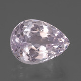 thumb image of 9.1ct Pear Facet Pink Kunzite (ID: 437803)