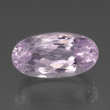 thumb image of 22.4ct Oval Facet Pink Kunzite (ID: 437948)