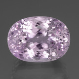 thumb image of 42.4ct Oval Facet Pink Kunzite (ID: 437952)