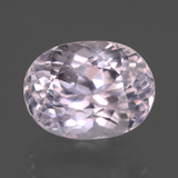 thumb image of 7.5ct Oval Facet Pink Kunzite (ID: 438039)