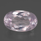 thumb image of 10.2ct Oval Facet Pink Kunzite (ID: 438044)